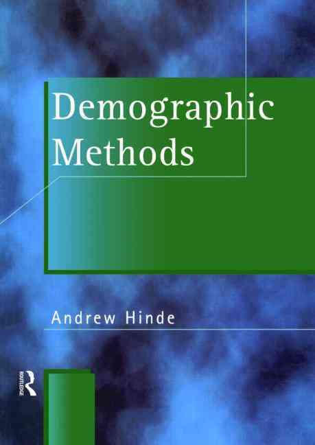 Demographic Methods By Hinde, Andrew